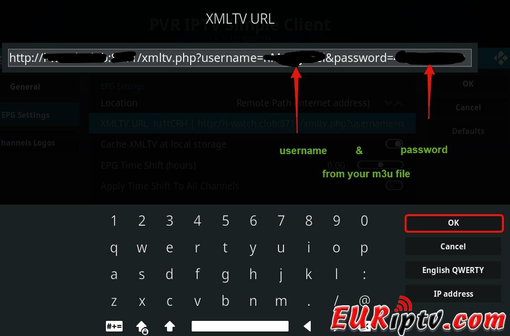 How to setup Kodi   Danmark   EURiptv com